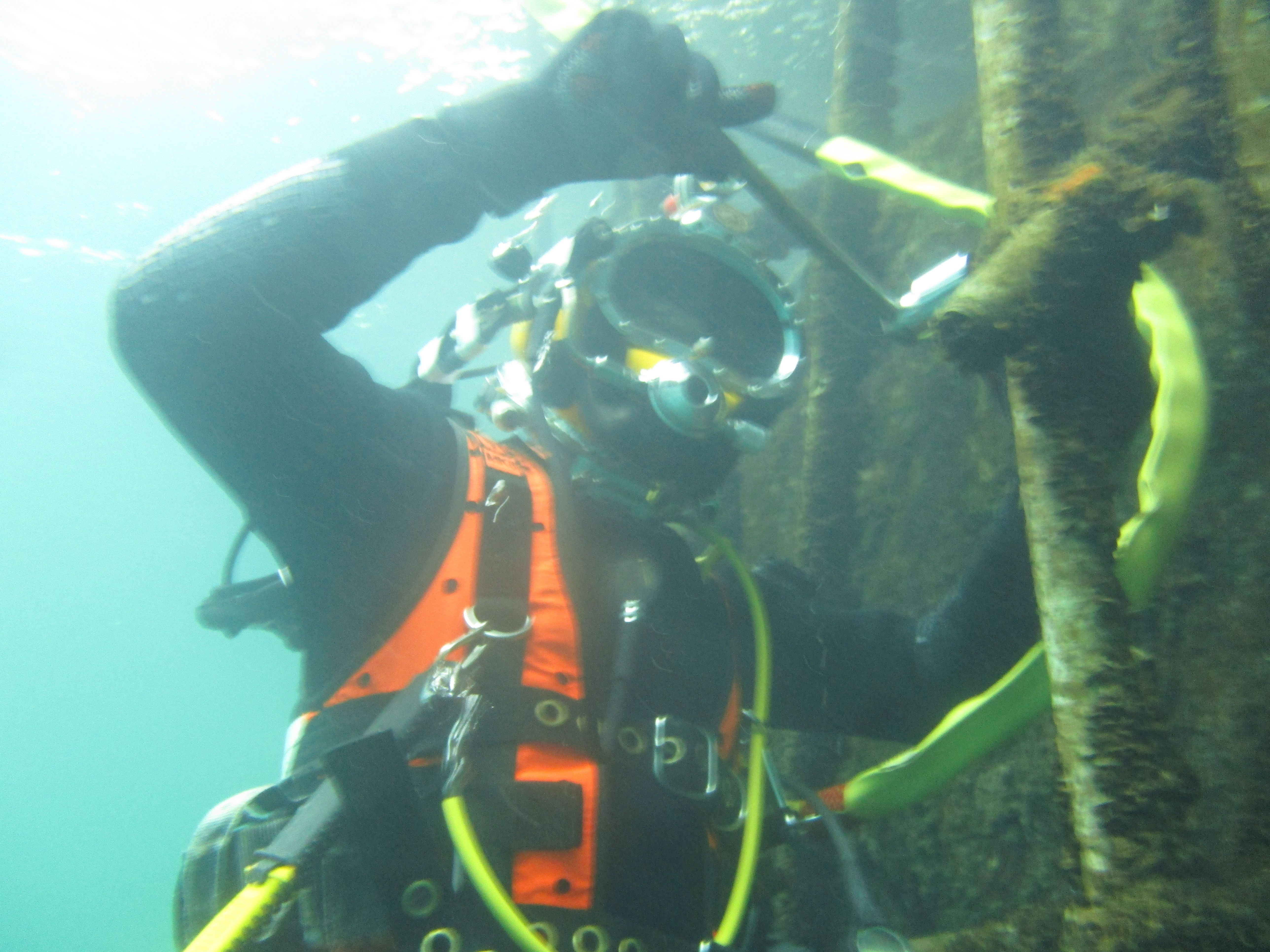 hse surface supplied diver  u2013 commercial diver training